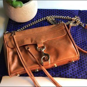 Rebecca Minkoff chain handle sm bag gold hardware